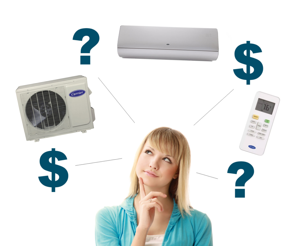 The Cost Of A Carrier Ductless Mini-Split Installation Near Oxford, PA